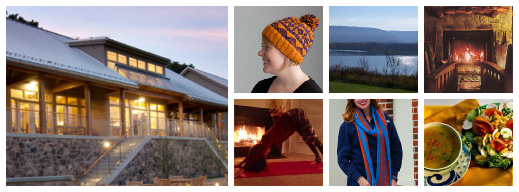 Collage for yoga retreat