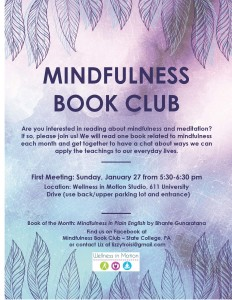 Mindfulness Book Club Flyer