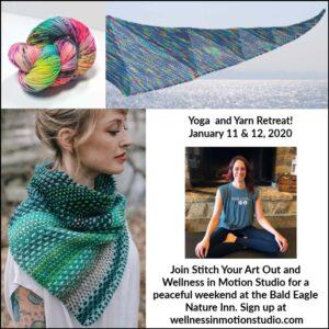 Yoga and Yarn 2020